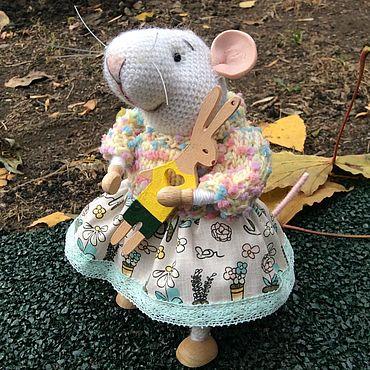 Куклы и игрушки ручной работы. Ярмарка Мастеров - ручная работа Мышка Маня. Handmade.