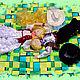 Коллекционные куклы ручной работы. Влад и  Наташа. Екатеринушка (magic-child). Ярмарка Мастеров. Шарнирная кукла, хлопок