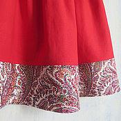 Одежда ручной работы. Ярмарка Мастеров - ручная работа Льняная юбка (в наличии 2 размера). Handmade.
