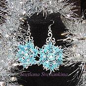 Украшения handmade. Livemaster - original item Earrings Flowers Isolde. Handmade.