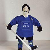 """Портретная кукла ручной работы. Ярмарка Мастеров - ручная работа Кукла по фото """"Хоккеист"""". Handmade."""