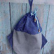 Для дома и интерьера ручной работы. Ярмарка Мастеров - ручная работа Рыбка - для хранения (пакетница, пижамница). Handmade.