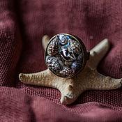 Украшения ручной работы. Ярмарка Мастеров - ручная работа Кольцо с морскими ракушками. Handmade.