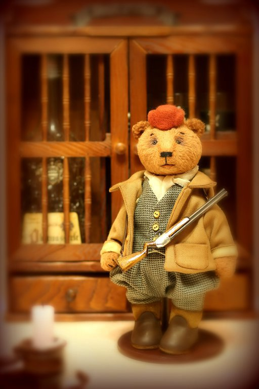 Мишки Тедди ручной работы. Ярмарка Мастеров - ручная работа. Купить Мишка Тедди Генри 27см. Handmade. Мишки тедди