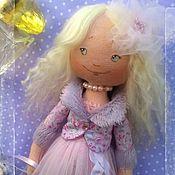 Куклы и игрушки ручной работы. Ярмарка Мастеров - ручная работа Текстильная кукла Николь.. Handmade.