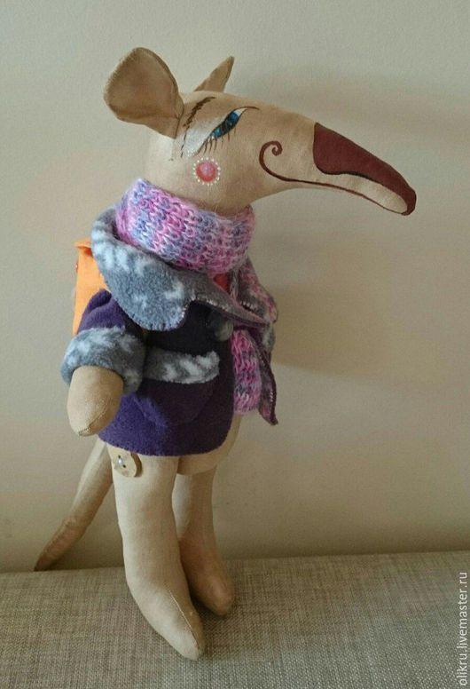 Ароматизированные куклы ручной работы. Ярмарка Мастеров - ручная работа. Купить Крыс. Handmade. Комбинированный, текстильная игрушка, авторская работа