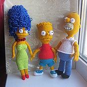 Куклы и игрушки ручной работы. Ярмарка Мастеров - ручная работа симпсон. Handmade.
