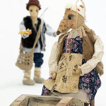 Куклы и игрушки ручной работы. Ярмарка Мастеров - ручная работа Крыса с корытом. Handmade.