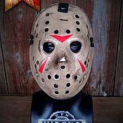 """Сувениры и подарки handmade. Livemaster - original item Jason Voorhees Mask """"Hungman"""" (Friday the 13th part 3). Handmade."""