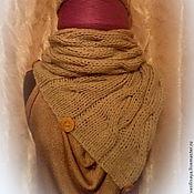 Аксессуары ручной работы. Ярмарка Мастеров - ручная работа Комплект шарф и шапка. Handmade.
