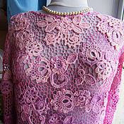 """Одежда ручной работы. Ярмарка Мастеров - ручная работа Блуза """"Нежное утро"""" - ирландское кружево. Handmade."""