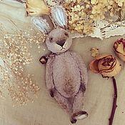 Мягкие игрушки ручной работы. Ярмарка Мастеров - ручная работа Кролик Аркадий Капустин. Handmade.