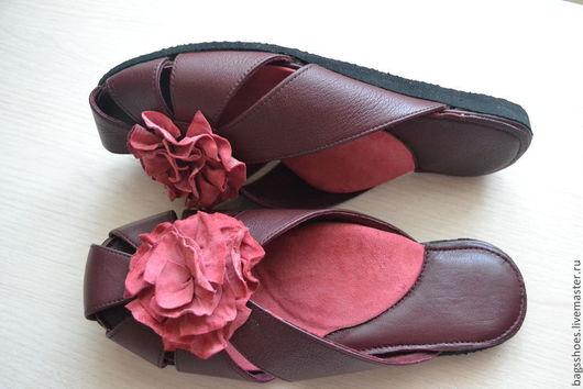 Обувь ручной работы. Ярмарка Мастеров - ручная работа. Купить тапочки (домашняя обувь)с ортопедической стелькой. Handmade.