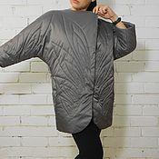 Куртки ручной работы. Ярмарка Мастеров - ручная работа Куртка женская стеганая из плащевки Жар птица. Handmade.