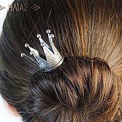 """Украшения ручной работы. Ярмарка Мастеров - ручная работа """"Корона 7 лучей"""" Заколка для волос (шпилька). Handmade."""