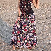 Одежда ручной работы. Ярмарка Мастеров - ручная работа юбка ЛЕТА ЦВЕТ. Handmade.