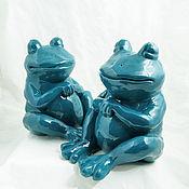 Для дома и интерьера handmade. Livemaster - original item Table lamp Frog. Handmade.