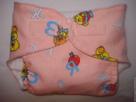 """Для новорожденных, ручной работы. Ярмарка Мастеров - ручная работа. Купить Памперсы многоразовые """" Мамина забота"""" цвет персиковый. Handmade."""