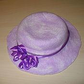 Аксессуары handmade. Livemaster - original item Summer felted hat. Handmade.