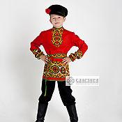Одежда handmade. Livemaster - original item Russian folk shirt for a boy