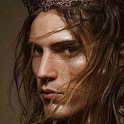 Украшения ручной работы. Ярмарка Мастеров - ручная работа Корона для фотосессии, мужская корона, корона унисекс. Handmade.