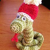 Куклы и игрушки ручной работы. Ярмарка Мастеров - ручная работа Змейка - символ 2013 года.. Handmade.