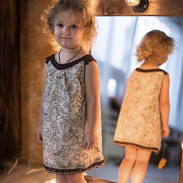 """Работы для детей, ручной работы. Ярмарка Мастеров - ручная работа Платье для девочки  1,5 -3 года """"Гармония"""". Handmade."""