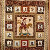 """Одеяла ручной работы. Ярмарка Мастеров - ручная работа Лоскутное одеяло """"Игрушки"""". Handmade."""