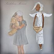 """Куклы и игрушки ручной работы. Ярмарка Мастеров - ручная работа """"Ангел доброты"""" - авторская кофейная куколка. Handmade."""