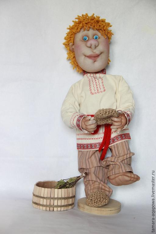 """Сказочные персонажи ручной работы. Ярмарка Мастеров - ручная работа. Купить Кукла """"Банный"""". Handmade. Подарок, интерьерная кукла, капрон"""