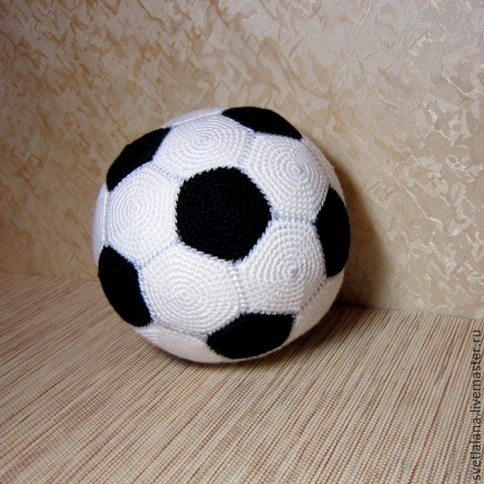 Knitted Soccer Ball Of Any Size Shop Online On Livemaster With