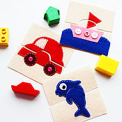 Куклы и игрушки handmade. Livemaster - original item Educational puzzles for kids. Handmade.