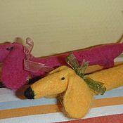 Куклы и игрушки ручной работы. Ярмарка Мастеров - ручная работа Таксы. Handmade.