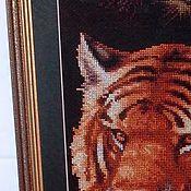 Картины ручной работы. Ярмарка Мастеров - ручная работа Тигрица. Handmade.
