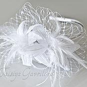 """Свадебный салон ручной работы. Ярмарка Мастеров - ручная работа Свадебный ободок """"Белые лилии"""". Handmade."""