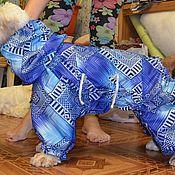 Для домашних животных, ручной работы. Ярмарка Мастеров - ручная работа Дождевик (комбинезон) на собаку. Handmade.