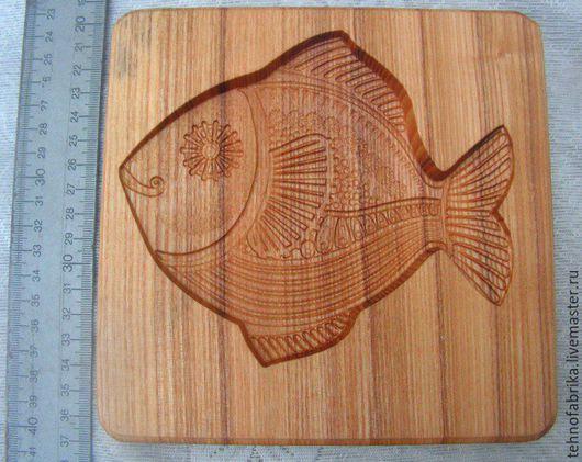 Кухня ручной работы. Ярмарка Мастеров - ручная работа. Купить Доска пряничная Рыбка. Handmade. Бежевый, рыбка, пряничная доска