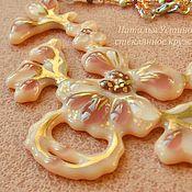 Украшения handmade. Livemaster - original item necklace made of glass