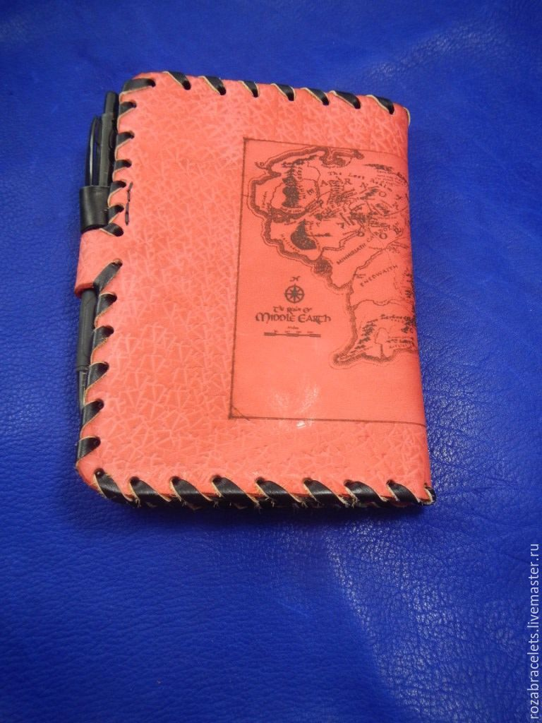 Order Leather notebook engraved with a Map