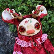 Куклы и игрушки ручной работы. Ярмарка Мастеров - ручная работа Вишневый Олень. Handmade.
