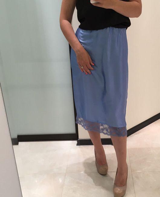 Юбки ручной работы. Ярмарка Мастеров - ручная работа. Купить Шелковая юбка YULIYALEV. Handmade. Юбка, юбка миди