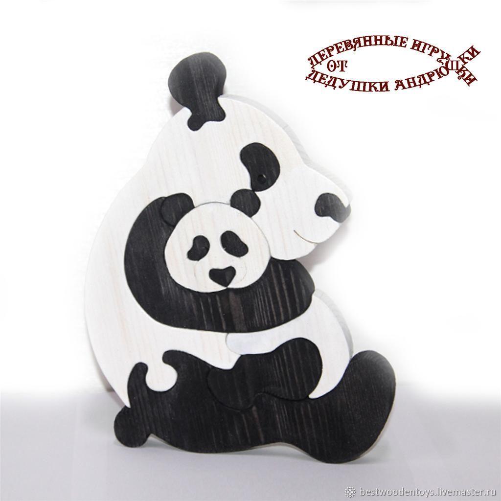 Puzzles, puzzles: Panda. Sweet dreams baby!, Puzzle, Voskresensk,  Фото №1