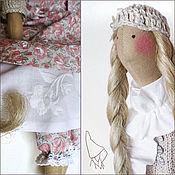 Куклы и игрушки ручной работы. Ярмарка Мастеров - ручная работа Тильда Сабина, кукла в бохо стиле. Handmade.