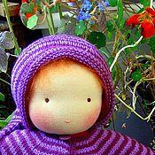 Куклы и игрушки ручной работы. Ярмарка Мастеров - ручная работа Вальдорфская кукла в пришивной одежке 32-34см. Handmade.