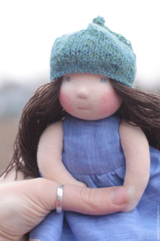 Ниночка 17см Вальдорфские куклы.Julia Solarrain (SolarDolls) Ярмарка Мастеров