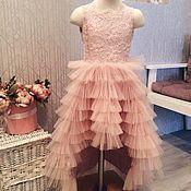 Платья ручной работы. Ярмарка Мастеров - ручная работа Платье детское нарядное. Handmade.