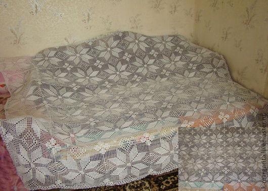 Текстиль, ковры ручной работы. Ярмарка Мастеров - ручная работа. Купить Плед .Норвежские звёзды. Handmade. Белый, плед