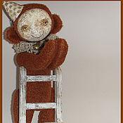 Куклы и игрушки ручной работы. Ярмарка Мастеров - ручная работа Мартышка Фукси. Handmade.