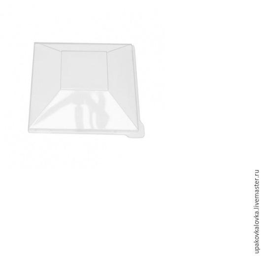 Упаковка ручной работы. Ярмарка Мастеров - ручная работа. Купить Пластиковая крышка для лотков/стаканчиков. Handmade. Прозрачный, стаканчик, лоток