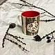 Кружки и чашки ручной работы. Ярмарка Мастеров - ручная работа. Купить Чашка с гранатом. Handmade. Разноцветный, посуда ручной работы